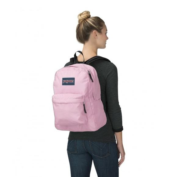 bb56d9ebf090e Jansport Superbreak Backpack - Pink Mist